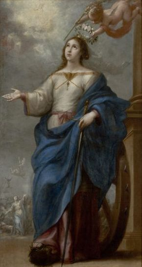 Image - Saint Catherine of Alexandria