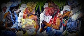 painting of the orishas